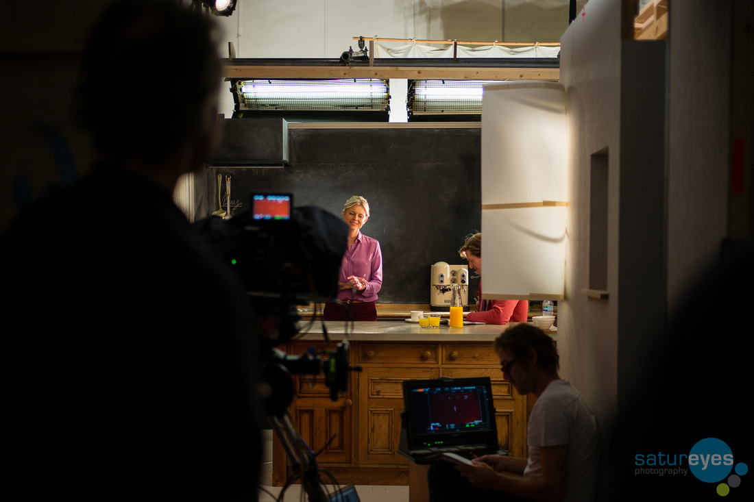 Behind the scenes of the 2015 Television Commercials for Total Greek Yoghurt, taken by Satureyes Photography on the Leica M240