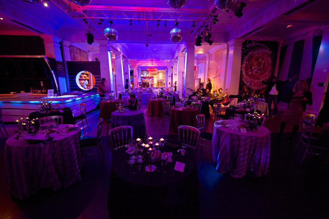 Madame Tussaud's London pop up restaurant for Valentine's day.