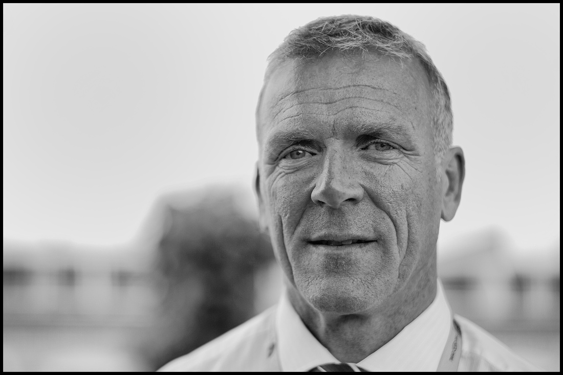 Portrait of Alec Stewart taken by satureyes photography at The Kia Oval with Keith Prowse.